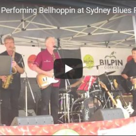 Bellhoppin' at Sydney Blues Festival