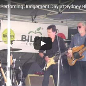 Judgement Day at Sydney Blues Festival