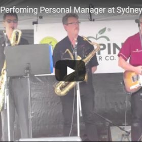 Personal Manager at Sydney Blues Festival