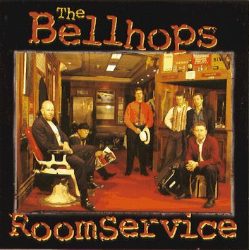 Room Service CD by The Bellhops